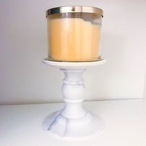 Bath and Body Works marble candle holder